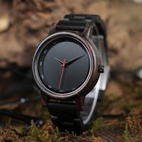Wholesale custom logo watches online - BOBO BIRD Male High Quality wrist Watch Bamboo Wooden Watches Men in gift box custom logo erkek kol saati S914
