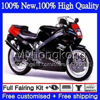Wholesale motorcycle fairings body kits - Body Motorcycle For SUZUKI RGV250 VJ23 97-98 RGV 250 97 98 Bodywork 39MY20 RGV-250 VJ 23 Cowling RGV250 1997 1998 Fairing kit Glossy black