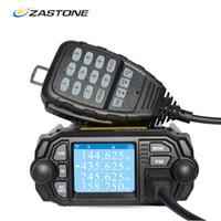 Wholesale Uhf Way Radio Mobile - Zastone Mobile Radio Walkie Talkie MP380 VHF 136-174MHz UHF 400-480MHz 25W 20W Dual Band Mini Car Radio Station Two Way