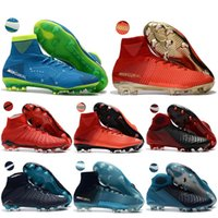 Wholesale cr7 sock boots resale online - Outdoor Socks Soccer Shoes Mercurial Superfly Ultra FG cr7 Football Boots womens mens kids boys Soccer Cleats Soccer Boots
