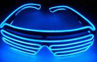 neue bühnenbeleuchtung großhandel-2018 neue led-licht brillen männer und frauen bühnen leistung el draht led licht gläser karneval festival party zubehör