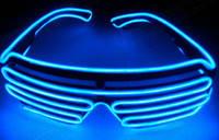 nova iluminação de palco venda por atacado-2018 novo led light homens e mulheres de óculos desempenho do estágio el fio led luz óculos de carnaval festival festa acessórios