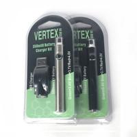 chargeur réglable pour l'électronique achat en gros de-LO Préchauffer Batterie + USB chargeur pour Co2 Huile Vaporisateur Variable Tension 510 batterie Réglable VV 350 Mah Cigarettes Électroniques vape Batterie