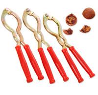 bananenschredder großhandel-Metall-Walnussclip, der Walnusswerkzeug-Fruchtöffnungsgerät der Schale abzieht