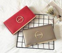 rote ringkupplung großhandel-Metallring Clutch Bags Große Kapazität Mode Abendtaschen Rot Schwarz Gold Quadrat Persönlichkeit Clutch Bags