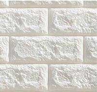 duvar kağıdı tuğla desen toptan satış-Tuğla Desen Su Geçirmez 3D Duvar Kağıdı Yaratıcı Kendinden Yapışkanlı Köpük Pamuk Duvar Sticker Yatak Odası Oturma Odası TV Duvar Arka Plan Duvar Kağıtları