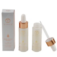 Wholesale beauty nails for sale - O TWO O K Rose Gold Infused Beauty Oil Elixir Skin Make Up Essential Oil Before Primer Foundation Moisturizing Face Oil