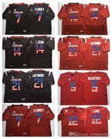 football flags 2018 - South Carolina Gamecock Black Red 4 ROLAND 7 CLOWNEY 21 LATTIMORE 14 C.SHAW College Football Jersey Men Flag Jerseys