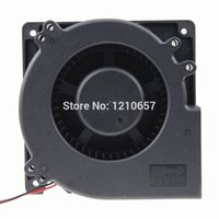 Wholesale 12v blower fan computer - 1PCS Gdstime DC B mm x32mm V Pin Ball Bearing Brushless Blower Fan