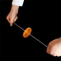 çekme oyuncak açtı toptan satış-El Volan Oyuncak Led Işık Up Oyuncaklar Çocuklar Için LED Flaş Oyuncak Çekme Işık Yanıp Halat Yenilik çocuk Doğum Günü Hediyesi (pil ile)
