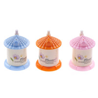 Wholesale toothpicks house for sale - Group buy 3 Colors random color Creative Fashion Small House Shaped Toothpick BoxPocket cm x cm Automatic Toothpick Holder