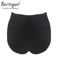 hot shapers sexy al por mayor-Burvogue Hot Sexy Butt Lifter Shapers Mujeres adelgazantes Ajustable Cintura Shaper Tummy Control Bragas Ropa interior Butt Lift Shapewear