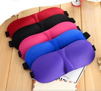 Wholesale padded foam case resale online - Eyeshade Travel Sleep Eye Mask D Memory Foam Padded Shade Cover Sleeping Blindfold Mask Cover Eye Patch Sleeping Masks Case