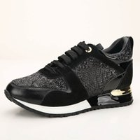 Wholesale purple dress white shoes online - Luxury Nice Women Sports Shoes Luxury Casual Leather Shoes Men All Leather Sport Sneaker Personality Trainer Dress Party Shoe Daily Runner