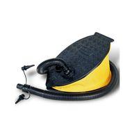 aufblasbares rohr großhandel-Fußluftpumpe Praktischer Kunststoff-Inflator mit gebogenem Rohr Langlebig Einfach zu bedienen Platzsparendes aufblasbares Zubehör für den Außenbereich 16ky B