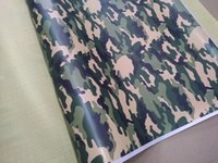 Wholesale army film - Small Army Green Camouflage Vinyl For Car Wrap Camo styling Covering Film with air release   Bubble Free Size 1,52x10m 20m 30m Roll