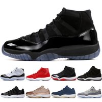 Wholesale 11 s Cap and Gown Prom Night Men Basketball Shoes Platinum Tint Gym Red Bred PRM Heiress Barons Concord Cool Grey mens sports sneakers