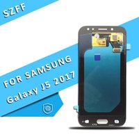 Wholesale super lcd - For Samsung Galaxy J5 2017 J530 SM-J530F J530M Super AMOLED LCD Display Touch Screen Digitizer Assembly Free DHL Shipping