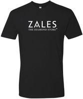magasins de bijoux diamants achat en gros de-ZALES Diamant Bijouterie T-shirt Hommes 2018 Marque De Mode T-shirt O-Cou 100% Coton T-Shirt Tops Tee
