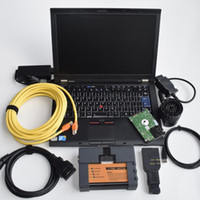 Wholesale Truck Diagnosis Tool - V2018.05 diagnostic Scanner icom a2 b+c with T410 Think pad Laptop for b mw car and truck diagnosis tools