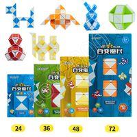 forme cube 3d achat en gros de-BestSeller Magic Cube Ruler Puzzles Règle de forme de serpent 3D Jeux Jouets Mini Cube 3D PuzzleToys Intelligence aléatoire Twist enfants Jouets Jeux