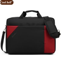 Wholesale cool cases for laptop - Cool bell 15.6 inch NotComputer Laptop Bags for Men Women Case Briefcase Shoulder Messenger Bag D045