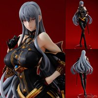Wholesale Cartoon Anime Girl Sexy - figure sexy Action Figure Sexy Girl Valkyria Chronicle Selvaria Bles Collection 27cm PVC Toys Dolls Cartoon Collectible Model Anime