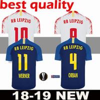 2018 2019 Leipzig RB Soccer Jersey WERNER SABITZER POULSEN FORSBERG  AUGUSTIN BERNARDO 18 19 Home Away jerseys uniforms Football Shirt 0b650ba71