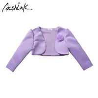 ingrosso disegni giacca bolero-ActhInK New Baby Girls Bolero Bambini Giacca corta formale per ragazze 5 disegni Ragazze Abito da sposa Cape Party Bolero, C312