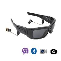 2117443556 Videocamera HD Ciclismo Occhiali da sole Occhiali DV Auricolare Bluetooth  Bike Sport Sci Driving Targa per macchina da presa Lente polarizzata YJ4