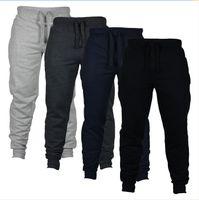 ingrosso pantaloni da jogger per mens più dimensioni-Pantaloni casual da uomo Pantaloni da jogging Harem Pantaloni da allenamento Pantaloni da jogging Pantaloni da uomo Pantaloni da uomo Pantaloni sportivi
