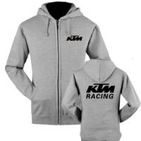Wholesale anti uv jacket online - autumn and winter motorcycle wool sweater KTM hoodie motorcycle motorcycle jacket Kawasaki Hoody outdoor sports fever xdf