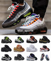 Wholesale cushioned running shoes for sale - 2018 th Running Shoes Men women Cushion Sneakers Boots Authentic M s Premium Neon Cool Grey Walking Outdoor Sports Shoes Eur