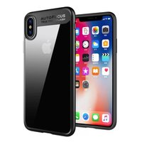 Wholesale Best Back Covers - Best selling phone case For iPhone 8 Plus Luxury Hybrid Clear Back Slim Shockproof Protector Case Cover