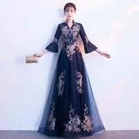 Women's Clothing Sexy Long Cheongsam 2019 Summer Vintage Chinese Style Dress Fashion Womens Rayon Qipao Slim Party Dresses Button Vestido Sophisticated Technologies