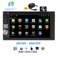 "Wholesale rear view car parking sensor - Eincar 6.2"" Double Din Car Radio Stereo car DVD Player Android 7.1 OCTA OCRE 2GB+32GB HeadUnit GPS Navi Parking Sensor Bluetooth"