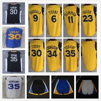 Wholesale Draymond Green - 2018 City Edition Yellow #30 Draymond Green Jersey Klay Thompson Shaun Livingston Nick Young Andre Iguodala Black Blue White Durant Shorts