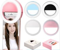Wholesale Flashing Manufacturers - Manufacturers rechargeable LED flash beauty supplement Selfie outdoor self-timer ring light all mobile phones