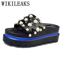 флип-флоп кинело оптовых-New fashion designer shoes  2017  home slippers women shoes platform flip flops beach chinelo sandals women