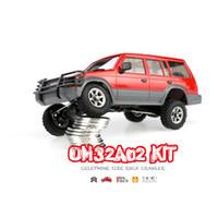 Wholesale Rc Crawler Parts - Orlandoo 1 32 4WD DIY RC Car Kit Orlandoo-Hunter OH32A02 RC Rock Crawler Without Electronic Parts CellPhone Size