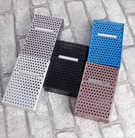novo estojo rígido de metal alumínio venda por atacado-20 Sticks Hard and Soft Cigarette Case De Alumínio Nova Oca Magnética Clamshell Metal Cigarette Case