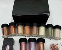 Wholesale hot brand eyeshadow online - Hot brand pigment poudre eclat g eyeshadow colors high quality Free DHL shipping