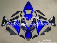 ingrosso corone di yzf-Carene moto ACE per YAMAHA YZF R1 2009-2012 Carrozzeria a compressione o iniezione splendida blu No.1137