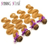 Wholesale dhgate indian remy hair online - New style chinese dhgate remy a Body Wave Remy Hair Extension Cheap Human Hair Bundles with closure Unprocessed Virgin Hair