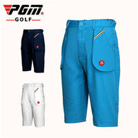 нижнее белье оптовых-Pgm 130~150Cm Child Boys Shorts Outdoor Kids Breathable Golf Short Casual Sportswear Trousers Clothes Summer Thin Bottom D0359