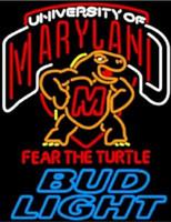ingrosso neon luminoso di bud-24 * 20 pollici Bud Light Maryland Tartaruga fai da te Vetro Neon Sign Flex Rope Luce al neon Indoor / Outdoor Decorazione RGB Voltaggio 110 V-240 V