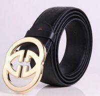 Wholesale 38 Pin - Men belts Luxury brand Retro cowboy belt for Men pin Buckle designer belts men high quality PU male Rivets Belts 2017