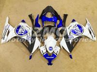Wholesale kawasaki lucky - New Motorcycle Fairings set fit For Kawasaki Ninja300 EX300R 2013 2014 2015 2016 Injection mold ABS Fairing Kit blue white lucky