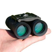 Wholesale Binoculars Glasses - New Arrival 40x22 Binocular Zoom Field Glasses Great Handheld Mini Telescopes Hunting HD Powerful Binoculars Hot For travel