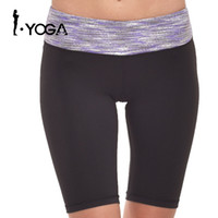 Wholesale super stretch yoga pants resale online - Women Super Stretch Tights Shapers Yoga Shorts Fitness Slimming Short Pants Women Slimming Running Loss Shaping Trousers P